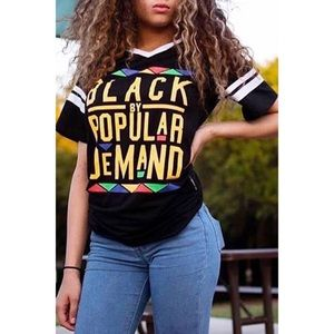 Tops - 🌸Black By Popular Demand T-Shirt🌸